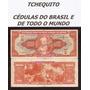 Brasil 1000 Cruzeiros C104 Sob Cédula Autografada- Tchequito