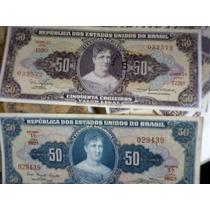 Cédula 50 Cruzeiros Princesa Isabel