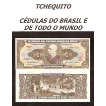 Brasil 5 Cruzeiros C068 Fe Cédula - Tchequito