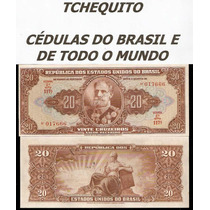 Brasil 20 Cruzeiros C083 Fe Cédula Autografada - Tchequito
