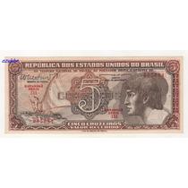 * C112 - 5 Cruz. 1962 - Cedula Do Índio Série 111 Fe *