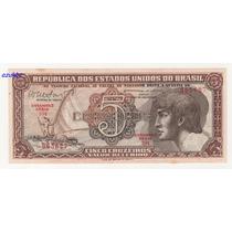 * C112 - 5 Cruz. 1962 - Cedula Do Índio Série 104 Fe *