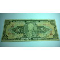 Cédula 500 Cruzeiros C100 1955 Mbc Lt0057