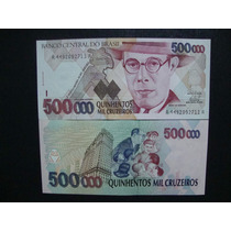 C 233 Cedula - 500.000 Cruzeiros Reais 1993 Fe