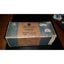 500 Cédulas C-012 1 Cruzeiro Fe - Caixa Amortização Lacrada