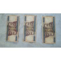 Cédula 500 Cruzeiros, Notas Antigas