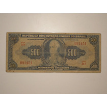 500 Cruzeiros C-044 - Autografada / Escassa