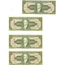Cédula Dinheiro Antigo, 10 Cruzeiros, C-077, Getúlio Vargas