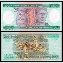 Nota Antiga 200 Cruzeiros Princesa Isabel