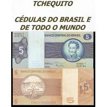 Brasil 5 Cruzeiros C136 Fe Cédula - Tchequito