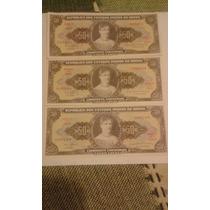 Cedulas 50 Cruzeiros Antigos Princesa Isabel
