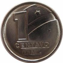 Moeda 1 Centavo De Cruzado Novo Ano 1989, Soberba