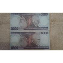 Cada Cédula Cr$ 5000 Cruzeiros Notas Antigas Anos 70 Até 86