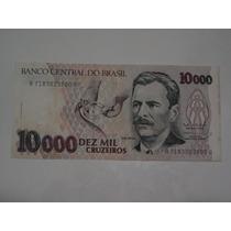 Cédula 10000 Dez Mil Cruzeiros Vital Brazil Lote 200 Cédulas