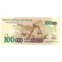 Brasil - C-230, 100.000 Cruzeiros, 1993, Série 6291, Fe