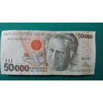 Cédula 50000 Bumba Meu Boi Cinquenta Mil Cruzeiros