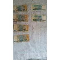 Cédula De Cem Mil Cruzeiros, Dinheiro Antigo