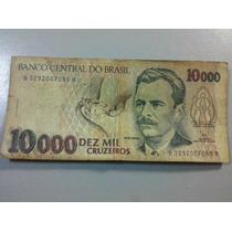Cédula10.000 Dez Mil Cruzeiros - Vital Brasil