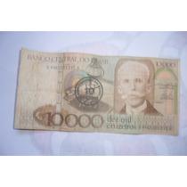 Antiga Cédula De Dez Mil Cruzeiros