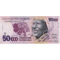 Réplica Cédula Da Baiana De 50 Mil Cruzeiros Reais