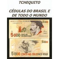 Brasil 5000 Cruzeiros Reais C239 Fe Cédula Gaúcho- Tchequito