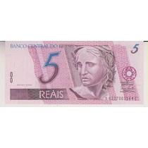 369 - 5 Cinco Reais Fe Série Bc 6227 R$ 15,00