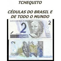 Brasil 2 Reais C261 Fe Cédula - Tchequito