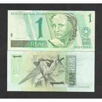 Brasil 1 Real C253 Fe Cédula Série 3383 (1ª) - Tchequito