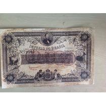 L-840 R-038 Cédula De 10 Mil Réis Do Império - Réplica 1868