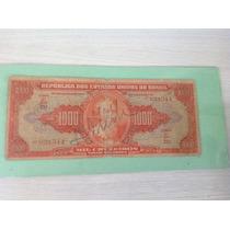 L-49 - C-104 Cédula Autografada Original De Cr$ 1.000,00 -