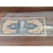 L-287 - C-045- Linda Cédula Original - Cr$ 500 - 1953