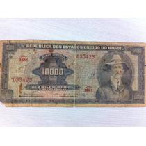 L-983 - C-060 Rara Cédula Original Cr$ 10.000 1966 Santos D