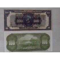 L-940 R-181 Raríssima Cédula 100 Mil Réis - 1926 - Réplica