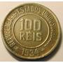 Moeda 100 Réis 1934,bonita Pátina, Cupro Niquel, Oferta