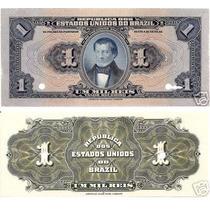 Rc1782 R077 Um Mil Réis Tesouro Nacional Provas Raras