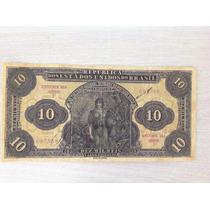 L-893 - R-108 - Linda Cédula 10 Mil Réis - 1923 - Réplicas