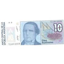 089 - Linda Cédula Estrangeira Fe - Argentina 10 Australes