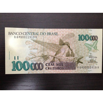 Cedula C230 - 100.000 Cruzeiros, 1993 Fe