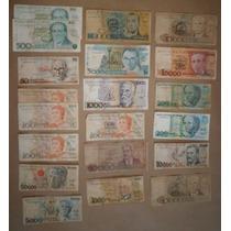 Lote 41 Cédulas Dinheiro Antigo De Cruzeiros, Coleção Lote 3