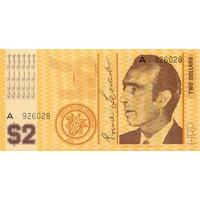 Hutt River Province Australia 2 Dollars 1970 Fe