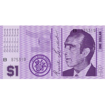 Hutt River Province Australia 1 Dollar 1970 Fe * Q J *