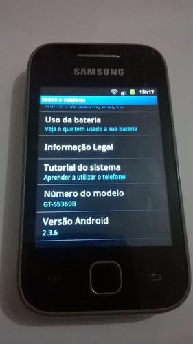 celular samsung galaxy y - gt-s5360b android 2.3.6