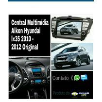 Central Multimidia Aikon Hyundai Ix35 2010/2012 Original