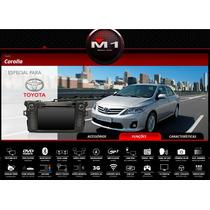 Central Multimidia M1 Original Toyota Corolla 2007 - 2013