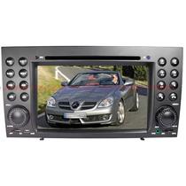 Central Multimidia Mercedes P/ Slk 04/11 Dvd/gps