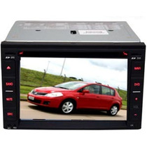 Central Multimídia Nissan Tiida Dvd Usb Gps Tv Bluetooth