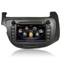 Central Multimídia Honda New Fit Dvd Gps Tv Bluetooth Usb Sd