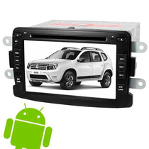 Kit Central Multimidia Android 4.4 Duster Sandero Logan Tv