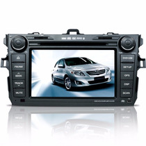 Central Multimidia Toyota Corolla Dvd Tv Gps Bluetooth Sd