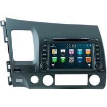 Central Multimidia Honda New Civic Tv Gps Espelhamento Vi300